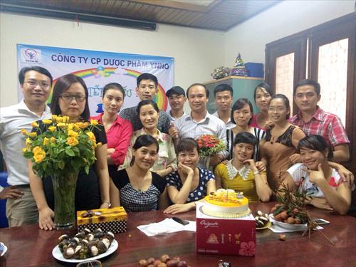 YNNO PHARMA MỪNG SINH NHẬT THÁNG 6 VÀ 7/2014